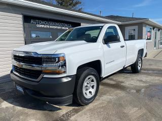 Used 2017 Chevrolet Silverado 1500 WT - 5.3L - LONG BOX - TOW PACKAGE for sale in Kingston, ON