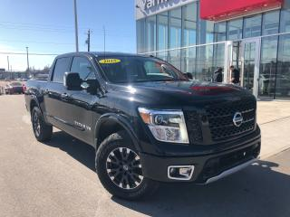 Used 2018 Nissan Titan PRO4X LUXURY LUXURY MONOTONE for sale in Yarmouth, NS