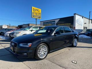 Used 2014 Audi A4 2.0 Progressiv NO ACCIDENTS, S-LINE TRIM, IMMACULATE CONDITION for sale in Etobicoke, ON