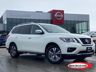 Used 2017 Nissan Pathfinder SL *CPO* LEATHER, NAVIGATION, MOONROOF for sale in Midland, ON