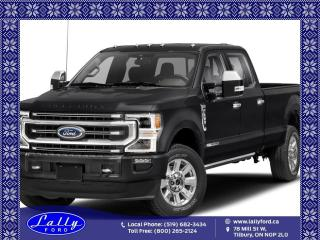 New 2021 Ford F-350 Platinum for sale in Tilbury, ON