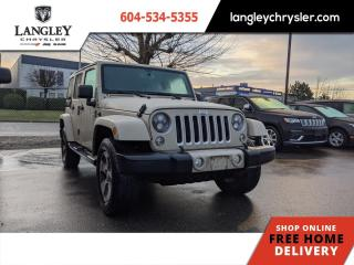 Used 2017 Jeep Wrangler Unlimited Sahara  Accident Free/ Local/ Hard Top/ Bluetooth/ Navi for sale in Surrey, BC