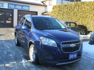 Used 2015 Chevrolet Trax LT, FWD for sale in Beaverton, ON