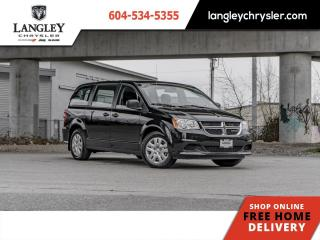 New 2020 Dodge Grand Caravan SE CVP  - Dual Zone AC for sale in Surrey, BC