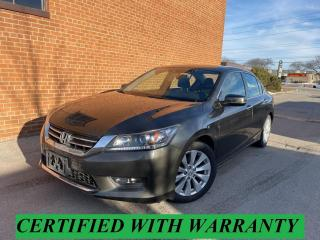 Used 2015 Honda Accord EX-L/LEATHER/SUNROOF/CAMERA/REBUILT TITLE for sale in Oakville, ON