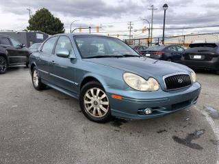Used 2003 Hyundai Sonata GL for sale in Langley, BC