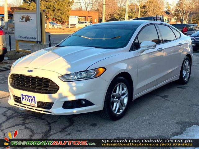 2013 Ford Fusion SE|LOW KM|NAVIGATION|BLUETOOTH|CAMERA|CERTIFIED