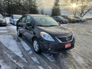Used 2012 Nissan Versa 1.6 SL w/ NAVIGATION 74,061KMS for sale in Stouffville, ON