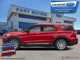 New 2021 Ford Explorer Platinum  - Leather Seats - $489 B/W for sale in Fort St John, BC