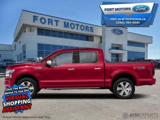 New 2020 Ford F-150 Platinum  - Leather Seats - Sunroof - $527 B/W for sale in Fort St John, BC