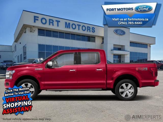 2020 Ford F-150 Platinum  - Leather Seats - Sunroof - $527 B/W