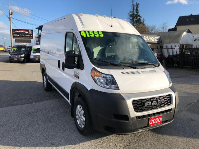 "2020 RAM ProMaster HIGH ROOF 136"" WB 3.6L V6 6 SPD AUTO"