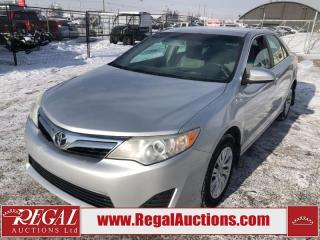 Used 2012 Toyota Camry LE 4D Sedan 2.5L for sale in Calgary, AB