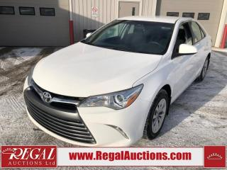 Used 2017 Toyota Camry LE 4D Sedan 2.5L for sale in Calgary, AB