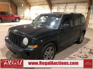 Used 2009 Jeep PATRIOT SPORT 4D UTILITY for sale in Calgary, AB