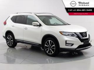 Used 2017 Nissan Rogue SL Platinum Reserve Accident Free, Leather, Moonroof, 360 Camera's, Remote Start for sale in Winnipeg, MB