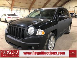 Used 2008 Jeep Compass Sport 4D Utility for sale in Calgary, AB