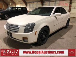Used 2007 Cadillac CTS 4D Sedan for sale in Calgary, AB