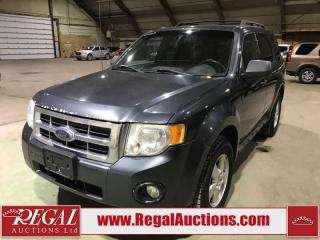 Used 2009 Ford Escape XLT 4D Utility for sale in Calgary, AB