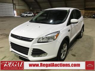 Used 2014 Ford Escape SE 4D Utility 4WD for sale in Calgary, AB