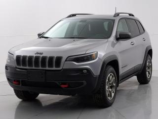 Used 2020 Jeep Cherokee Trailhawk 4X4*Accident Free/Local Vehicle/Touchscreen* for sale in Winnipeg, MB