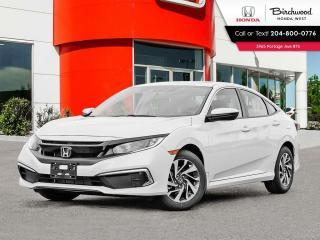 New 2021 Honda Civic EX for sale in Winnipeg, MB