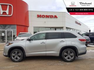 Used 2019 Toyota Highlander Limited Leather - Heated Seats - Cooled Seats - Bluetooth - Back-Up Cam for sale in Winnipeg, MB