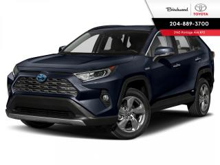 New 2021 Toyota RAV4 Hybrid Limited AWD for sale in Winnipeg, MB