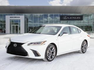 New 2021 Lexus ES 350 F Sport 2 for sale in Winnipeg, MB
