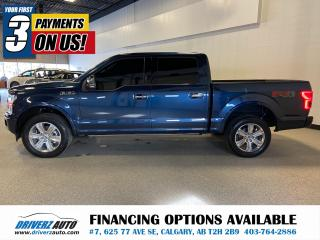 Used 2020 Ford F-150 Platinum ADAPTIVE CRUISE, BLIND SPOT ,AND MUCH MORE.. for sale in Calgary, AB