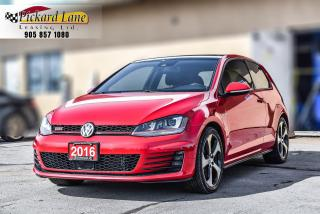 Used 2016 Volkswagen Golf GTI 3-Door Performance 1 OWNER! | CLEAN CARFAX! | for sale in Bolton, ON