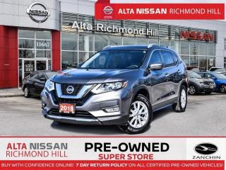 Used 2018 Nissan Rogue SV Tech PKG   PWR Liftgate   Navi   360CAM   BSW for sale in Richmond Hill, ON
