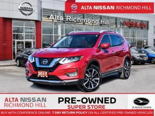 Used 2017 Nissan Rogue SL Plat. Reserve   PWR Liftgate   Navi   360CAM for sale in Richmond Hill, ON