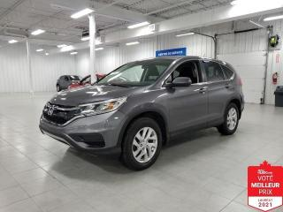 Used 2015 Honda CR-V SE AWD - CAMERA + JAMAIS ACCIDENTE !!! for sale in Saint-Eustache, QC