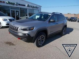 New 2021 Jeep Cherokee Trailhawk Elite for sale in Arnprior, ON