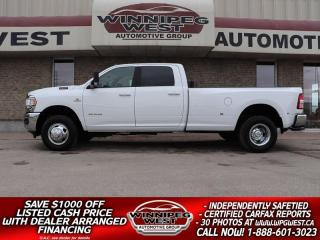 Used 2019 Dodge Ram 3500 BIG HORN LVL 2 CUMMINS, AISIN, MAX TOW DUALLY 4X4! for sale in Headingley, MB