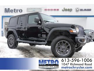 Used 2018 Jeep Wrangler Unlimited Sahara 4X4 for sale in Ottawa, ON