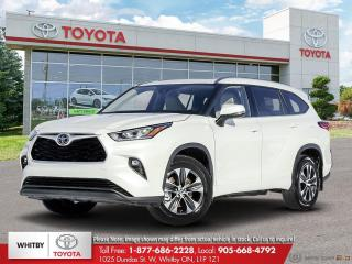 New 2020 Toyota Highlander XLE for sale in Whitby, ON