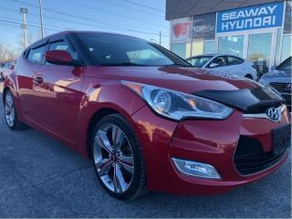 Used 2013 Hyundai Veloster 3dr Cpe Auto w-Tech - Local Trade - Navigation for sale in Cornwall, ON