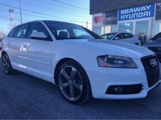 Used 2011 Audi A3 S Line - Quattro - Leather - Sunroof for sale in Cornwall, ON