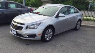 Used 2016 Chevrolet Cruze LT|Warranty-Just Arrived| for sale in Brandon, MB