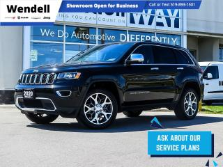 Used 2020 Jeep Grand Cherokee Limited Navigation Blind Spot for sale in Kitchener, ON