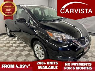 Used 2018 Nissan Versa Note SV CVT - FACTORY WARRANTY/REVERSE CAMERA - for sale in Winnipeg, MB