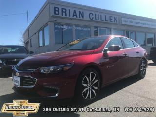 Used 2017 Chevrolet Malibu LT  - Certified for sale in St Catharines, ON