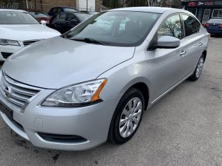 Used 2015 Nissan Sentra 4DR SDN for sale in Hamilton, ON