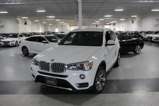 Used 2017 BMW X3 XDRIVE28i NO ACCIDENTS I LEATHER I REAR CAM I PUSH START for sale in Mississauga, ON