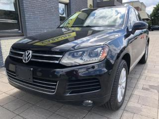 Used 2013 Volkswagen Touareg FULLY LOADED V6 AWD for sale in Nobleton, ON