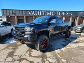 Used 2018 Chevrolet Silverado 1500 4WD Crew Cab 6.2  LTZ, NO ACCIDENTS, LEATHER for sale in Brampton, ON