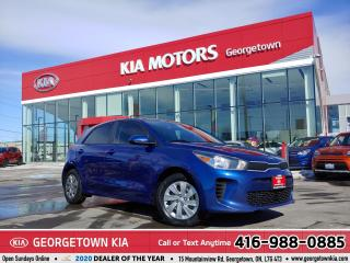 Used 2018 Kia Rio 5-Door LX | CLN CRFX | B/U CAM | HTD SEATS | B/TOOTH |65K for sale in Georgetown, ON