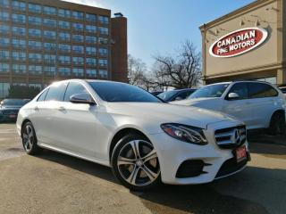 Used 2017 Mercedes-Benz E-Class E400 CLEAN CARFAX | NAVI | CAM | PANO | 4 NEW SNOW TIRES* | for sale in Scarborough, ON